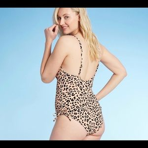 Shade & Shore leopard one piece